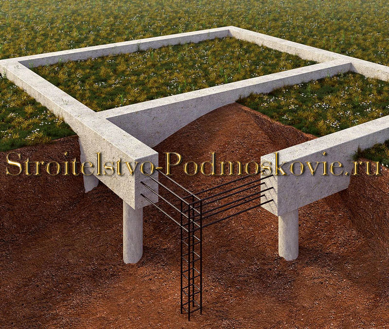бетонный ростверк цена